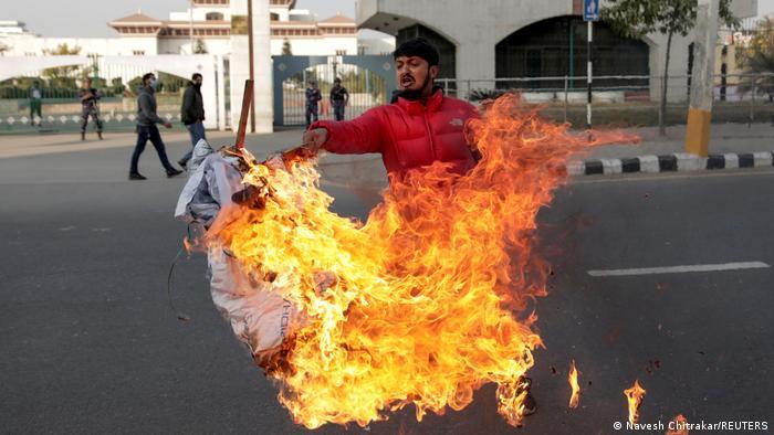 Nepal Proteste