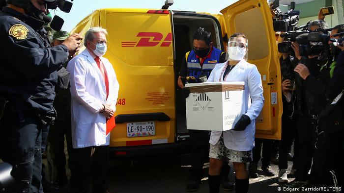 Distribution und Verteilung des Corona Impfstoffs I Mexiko