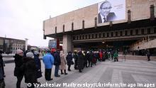 Ukraine Charkiw Trauerfeier für Gennadiy Kernes