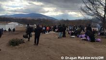 Bosnien und Herzegowina I Schliessung des Migrantenlagers Lipa in Bihac