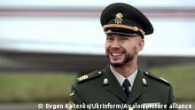 Ukraine Kiew   Soldat Nationalgarde   Vitaliy Markiv