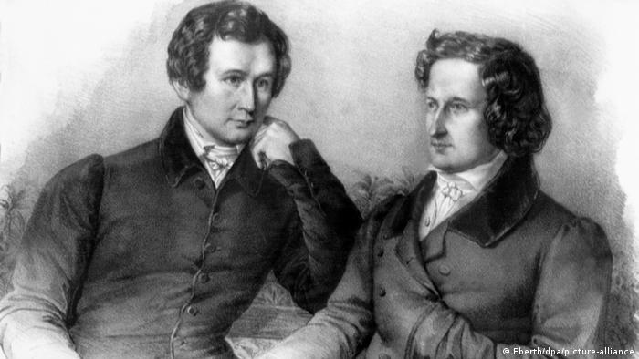 Los hermanos Jakob und Wilhelm Grimm