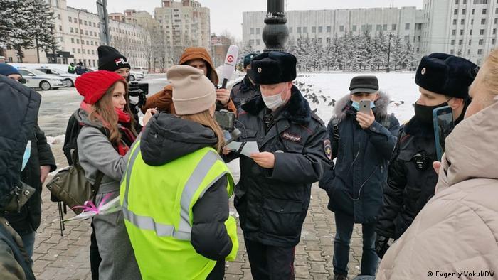 Russland Chabarowsk | Polizei, Kontrolle von Journalisten