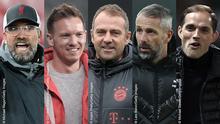 Bildkombo Top 5 deutsche Fußballtrainer