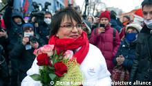 Moskau | Julia Galjamina Gerichtstermin PK