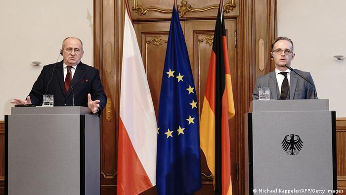 Berlin | Heiko Maas trifft Zbigniew Rau Außenminister Deutschland Polen