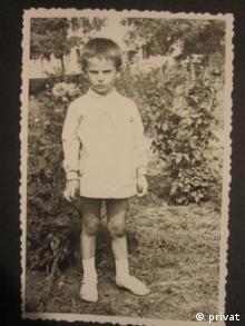 Георги Господинов - кадър от детството