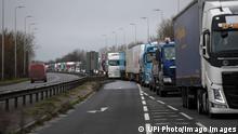 Großbritannien Dover Port | Coronavirus | LKW, Verkehr