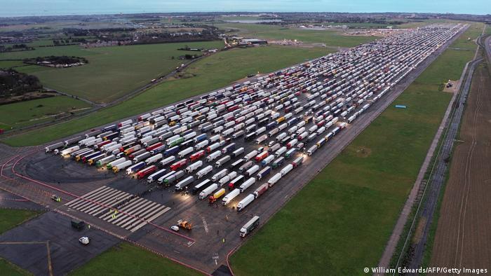 Großbritannien Ramsgate   Coronavirus   Parkplatz, Verkehr