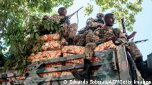 Äthiopien Alamata Amhara Special Forces