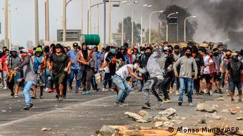 Protestas en Perú, diciembre 2020