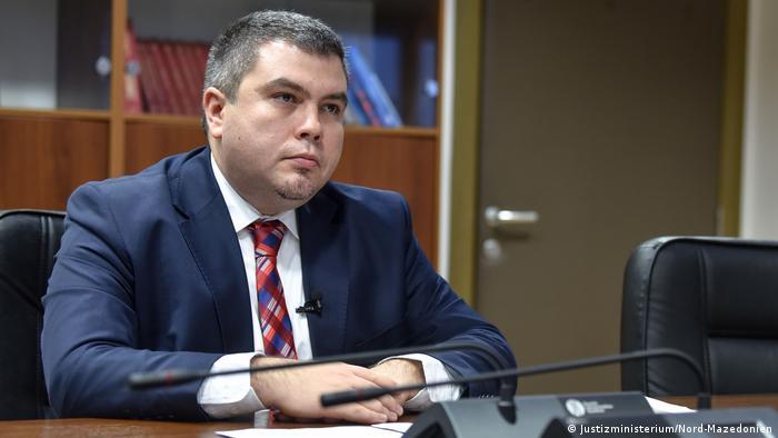 Nord-Mazedonien - Justizminister, Bojan Maricik
