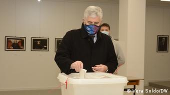Čović na izborima u Mostaru