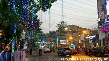 Indien Weihnachten in Kalkutta