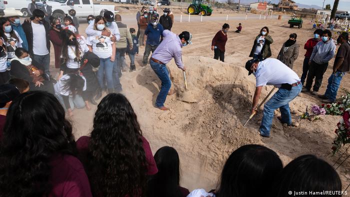 BG USA New Mexico | Coronavirus | Beerdigung Jose Garcia