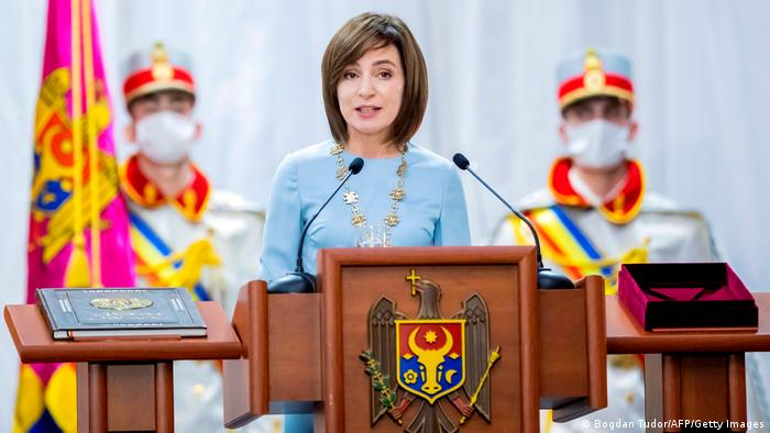 Moldawien Chisinau | Amtseinführung Maia Sandu