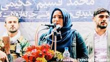 ***ACHTUNG: Bild nur zur aktuellen Berichterstattung verwenden!*** via Taher Shirmohammadi Frauenaktivistin Fereshte Kuhestani wurde am 24. Dezember in Kabul ermordet. Rechte: Facebook/Feeshte Kuhestani