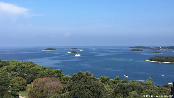 Kroatien Inselgruppe vor Vrsar
