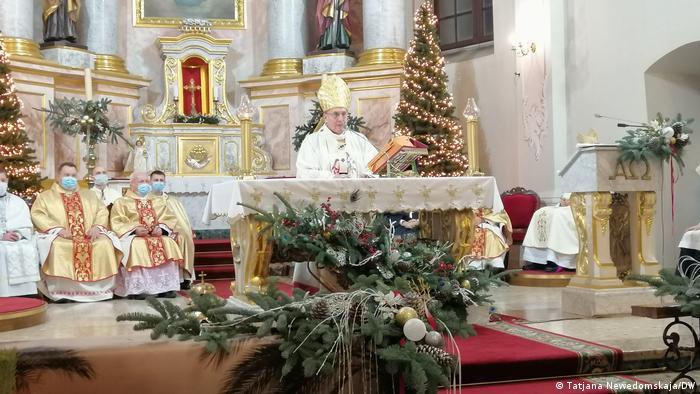 Тадеуш Кондрусевич возглавил рождественские службы в Минске, 24 декабря