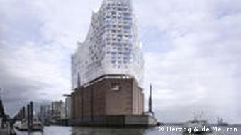 Гамбургская фата моргана: проект филармонии на Эльбе