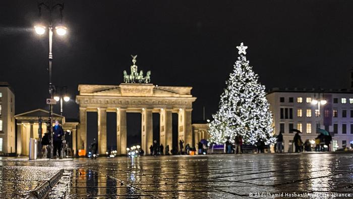 Deutschland Weihnachtsfeier in Berlin