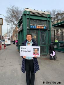 China Ding Jiaxi Menschenrechtsanwalt Frau