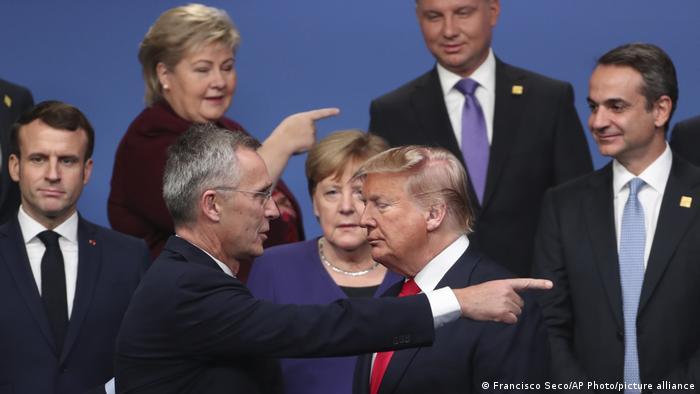 Liderii lumii la reuniunea NATO de la Watford, Marea Britanie (decembrie 2019)