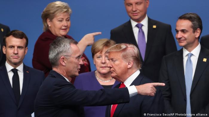 Jens Stoltenberg & Donald Trump
