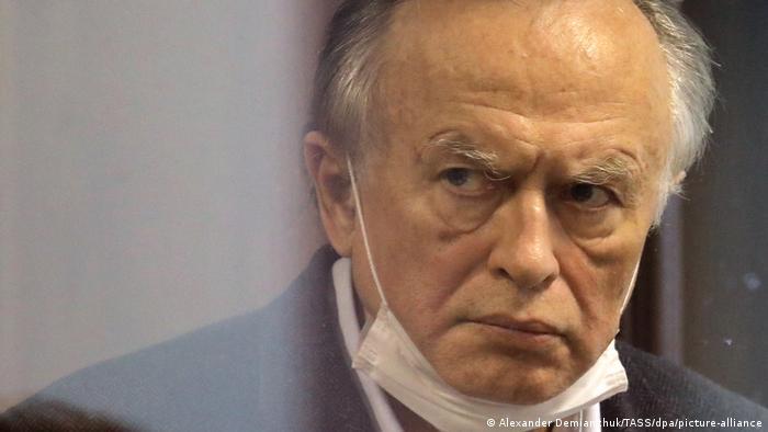 Экс-доцент СПбГУ Олег Соколов на заседании суда