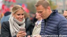 Russland Ljubow Sobol Alexei Navalny