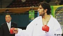 Iran Mahdi Jafar Gholi Zadeh, ehemaliges Mitglied Karate-Nationalmannschaft