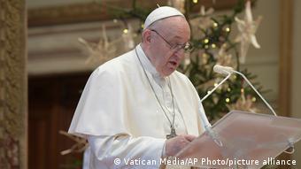 پاپ فرانسیس و پیام به بایدن