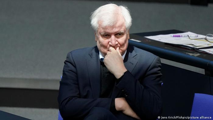 Berlin   Bundestagssitzung - Horst Seehofer