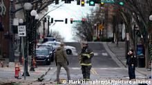 USA | Explosion in der Innenstadt von Nashville