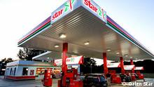Deutschland Tankstelle Orlen Star Benzin