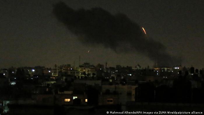 Israelischer Luftangriff in Gaza-Stadt