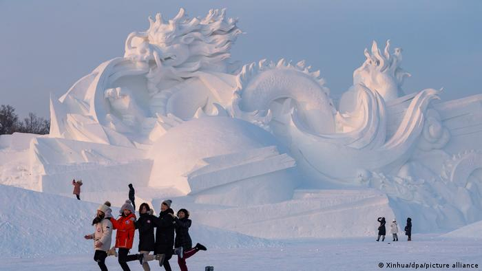 BDTD China Schneeskulpturenfestival in Harbin