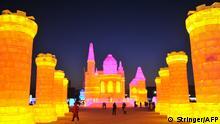 China Schneeskulpturenfestival in Harbin