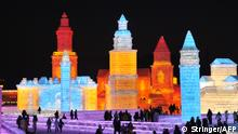 China Schneeskulpturenfestival in Harbin