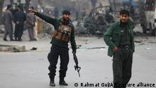 Afghanistan Kabul Bombenanschlag