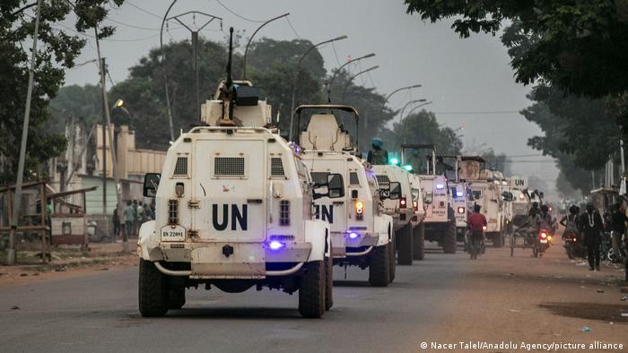 La Mission de l'ONU a été déployée en RCA en 2014