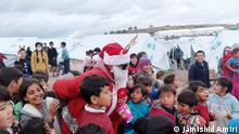 Lesbos Kara-Tepe Flüchtlingscamp Weihnachten 2020