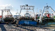 Italien I Libysche Fischer in Mazara del Vallo