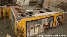 Forscher graben antike «Snackbar» in Pompeji aus