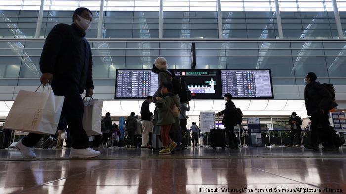 Japón cierra fronteras a viajeros extranjeros | El Mundo | DW | 27.12.2020