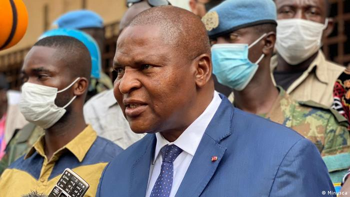 Central-African President Faustin-Archange Touadera