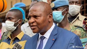 Zentralafrikanische Republik Bangui | Wahlen | Präsident Faustin Archange Touadéra