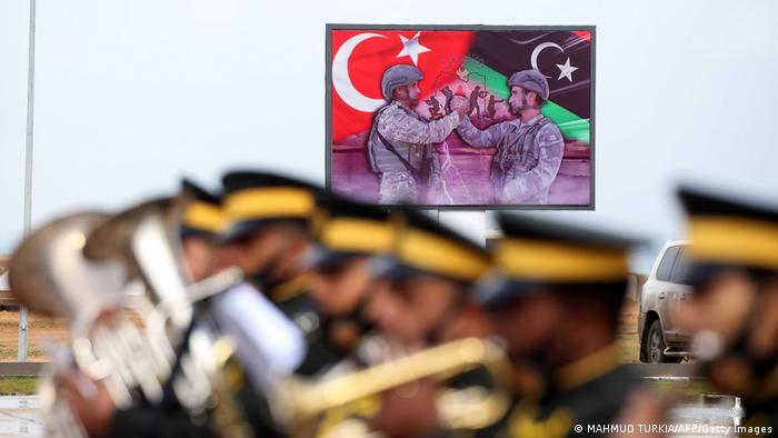 شمار زیادی از سربازان ترکیه در لیبی حضور دارند