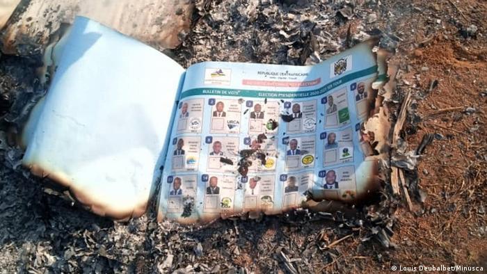 Zentralafrikanische Republik | Wahlen | verbrannte Wahlunterlagen
