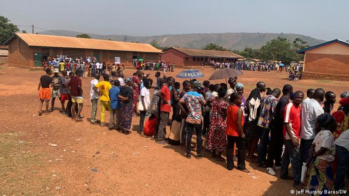 Zentralafrikanische Republik Bangui   Wahlen